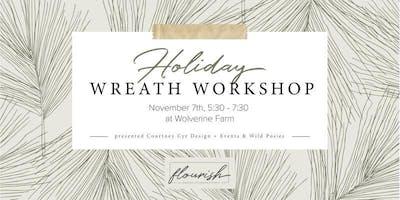 Flourish | Fall Wreath Workshop