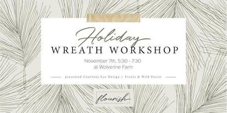 Flourish | Fall Wreath Workshop tickets