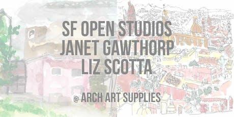 SF Open Studios with Janet Gawthrop and Liz Scotta tickets