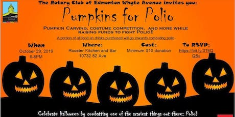 Pumpkins for Polio & Halloween Party tickets