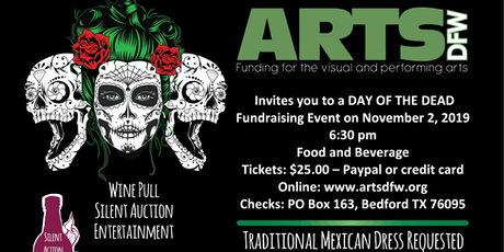 ARTSDFW Day of the Dead Fundraiser tickets
