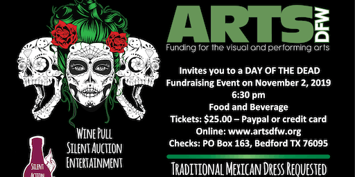 ARTSDFW Day of the Dead Fundraiser