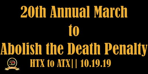 20th Annual March to Abolish the Death Penalty