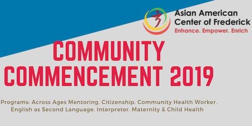 Community Commencement 2019