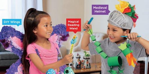 Lakeshore's Free Crafts for Kids World of Fantasy Saturdays in November (Matthews)