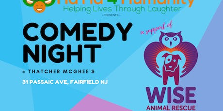 Comedy Night @ Thatcher McGhee's benefiting Wise Animal Rescue tickets