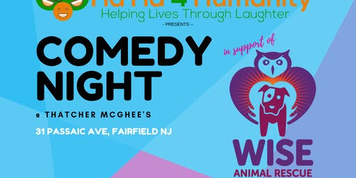 Comedy Night @ Thatcher McGhee's benefiting Wise Animal Rescue