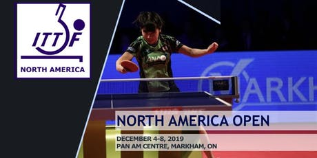 North America Table Tennis Open - Day 4 (Round of 16) tickets