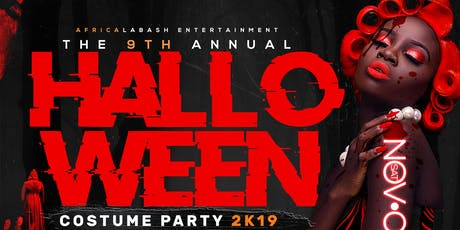 The 9th Annual Halloween Costume Party 2k19 tickets