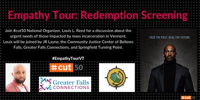 Empathy Tour: Redemption Project Screening – Brattleboro, Vermont
