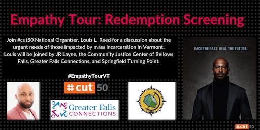 Empathy Tour: Redemption Project Screening – Brattleboro, Vermont