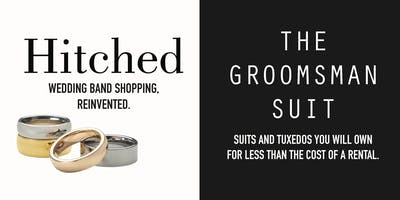 Hitched & The Groomsman Suit's Showroom Grand Opening