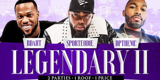 WSSU HOMECOMING LEGENDARY | 2 HUGE PARTIES, 1 ROOF! W/BDAHT, SPORTEODIE & DP #WSSU