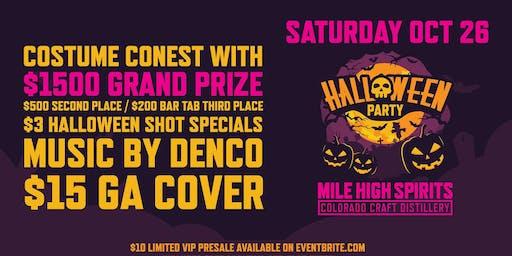 Halloween party VIP Pre-Sale