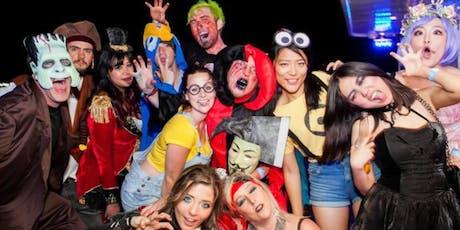 NYC Halloween Hip Hop vs Reggae Midnight Yacht Party Cruise at Skyport Marina 2019  tickets