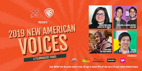 2019 CAPE/Warner Bros. Feature Film Panel: NEW AMERICAN VOICES tickets