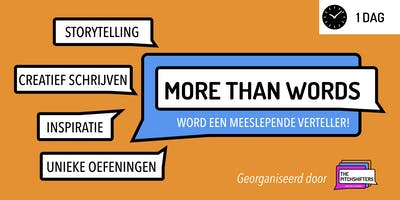 More Than Words - Storytelling & Creative Writing [DUTCH]