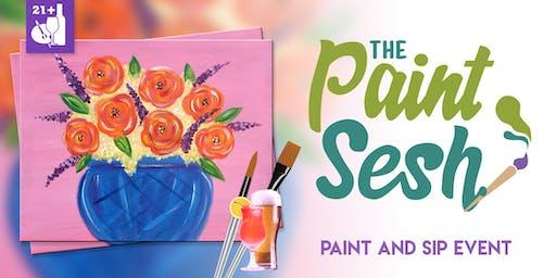 "Paint Night in Riverside, CA - ""Roses"""