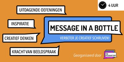 Message In A Bottle - Creative Writing [DUTCH]