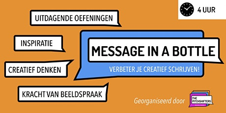 Message In A Bottle - Creative Writing [DUTCH] tickets