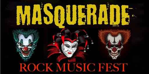MASQUERADE ROCK MUSIC FEST feat. PUDDLE OF MUDD, FUEL, SPONGE & THE RASKINS