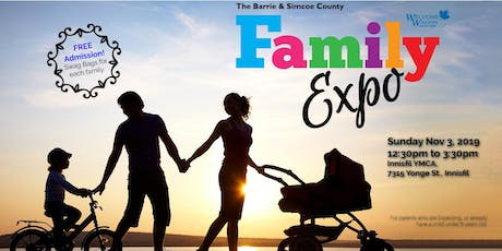 Barrie & Simcoe County Family Expo - Fall 2019 tickets