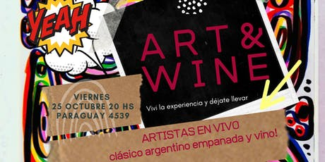 Arte + Vino --Art Wine-- En Artfactory Beer Garden entradas