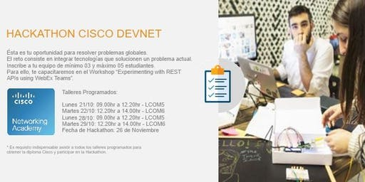 HACKATHON CISCO DEVNET