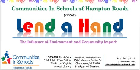 Lend a Hand: The Influence of Environment and Community Impact tickets