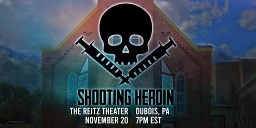"""""""Shooting Heroin"""" DuBois Premiere at The Reitz Theater"""