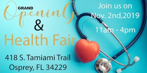 Health Fair & Grand Opening
