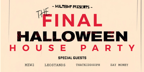 The Final Halloween House Party tickets