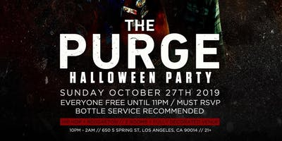 The PURGE: Halloween Party
