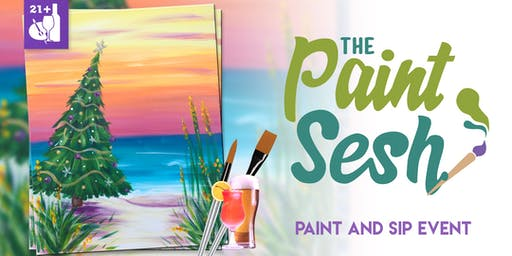 """Paint Night in Downtown Riverside, CA – """"Christmas Vacation"""""""