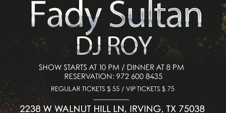 Fady Sultan tickets