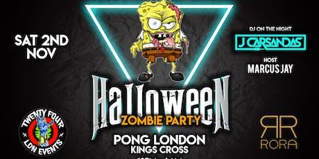 Halloween Zombie Party - 24LDN x RORA tickets