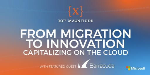 From Migration to Innovation: Capitalizing on the Cloud - Dallas