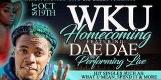 WKU HOMECOMING DAE DAE PERFORMING LIVE