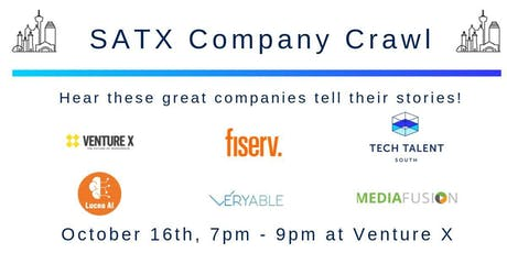 SATX Company Crawl tickets