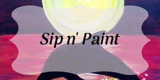 Sip N' Paint - Owl