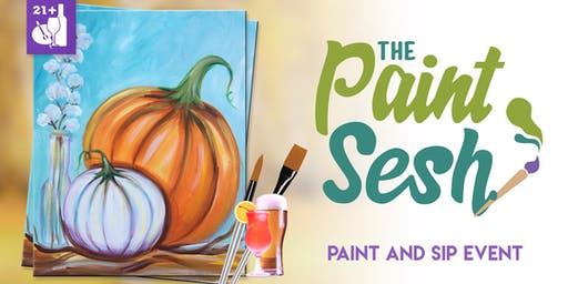 "Paint Night in Downtown Riverside, CA – ""Pumpkin Spice"""