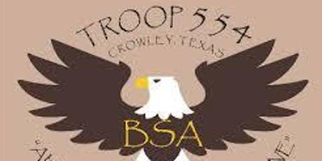 50th Anniversary of Troop 554, Crowley United Methodist Church tickets