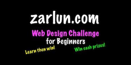 Web Design Course and Challenge - CASH Prizes Little Rock EB tickets