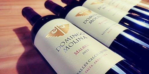 Domingo Molina. Premium Wine Tasting