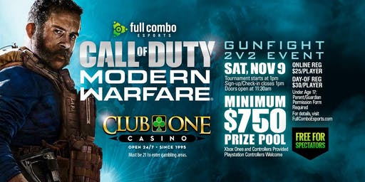 Call of Duty MW: Gunfight 2v2 Tournament