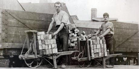 Llandudno: bricks and bricklaying  //  briciau a gosod brics tickets