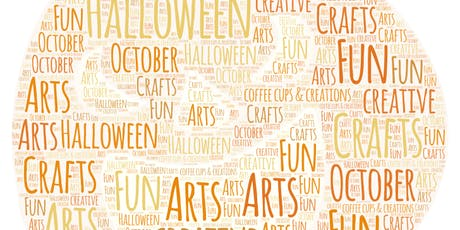 Halloween crafts session tickets