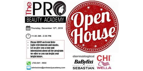 Open House - The Pro Beauty Academy tickets