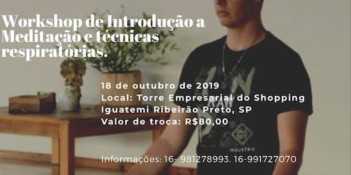 Workshop de Introdução a Meditação e práticas respiratórias