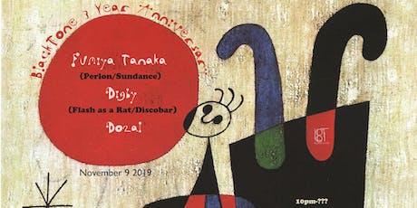 BlackTone 3 Year Anniversary feat. Fumiya Tanaka, Digby tickets